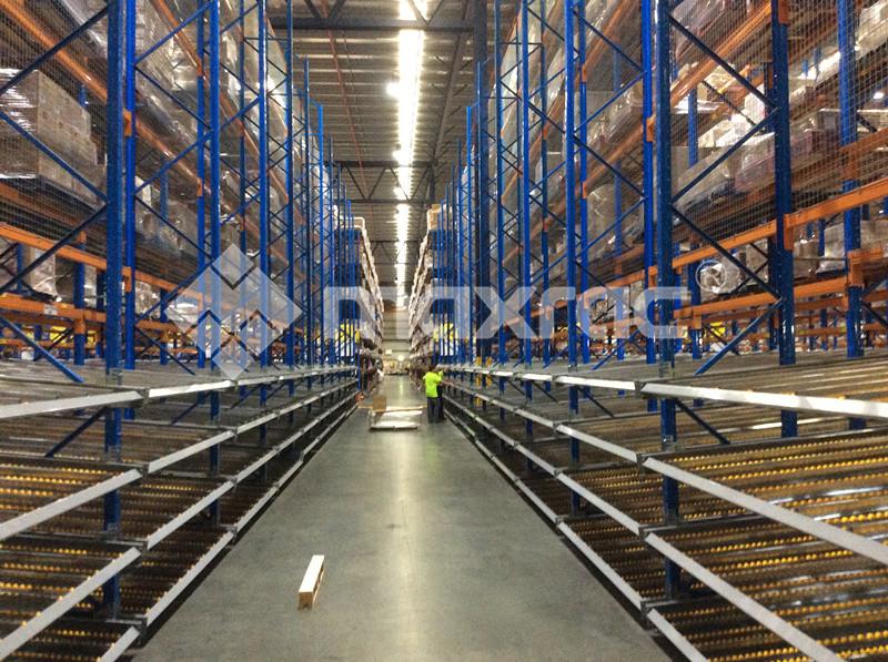 Carton live storage in Australia