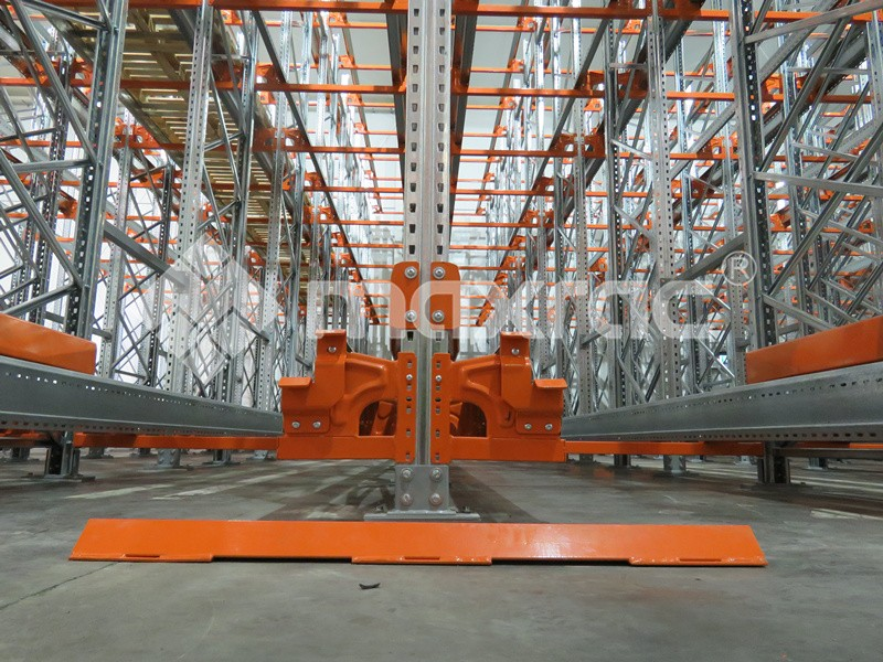 Drive in racking system with shuttle cart In New Zealand