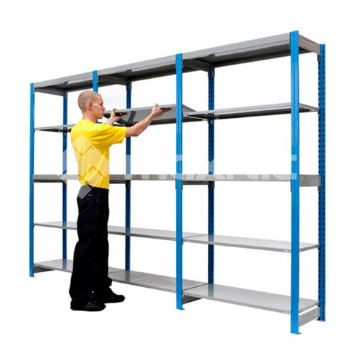 This is our heavy duty storage shelving unit