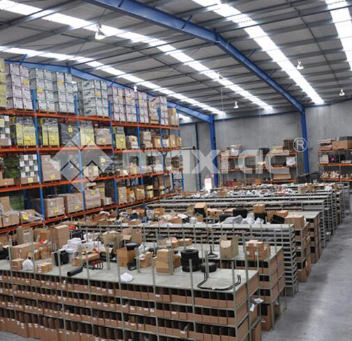 Maxrac storage shelving system is the most common type of warehouse racking systems