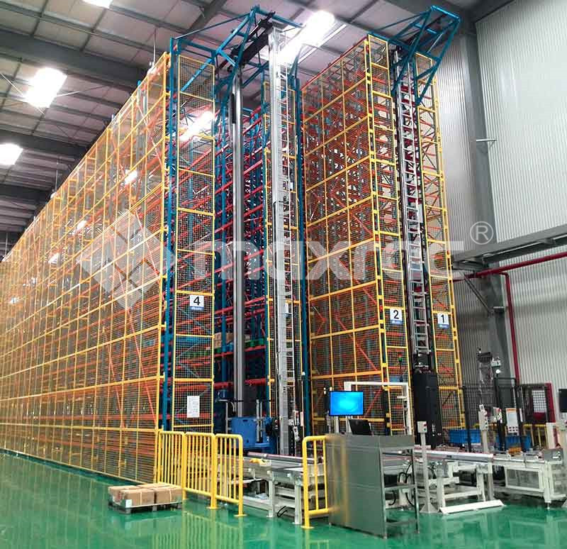 Automated Warehouse Shelving