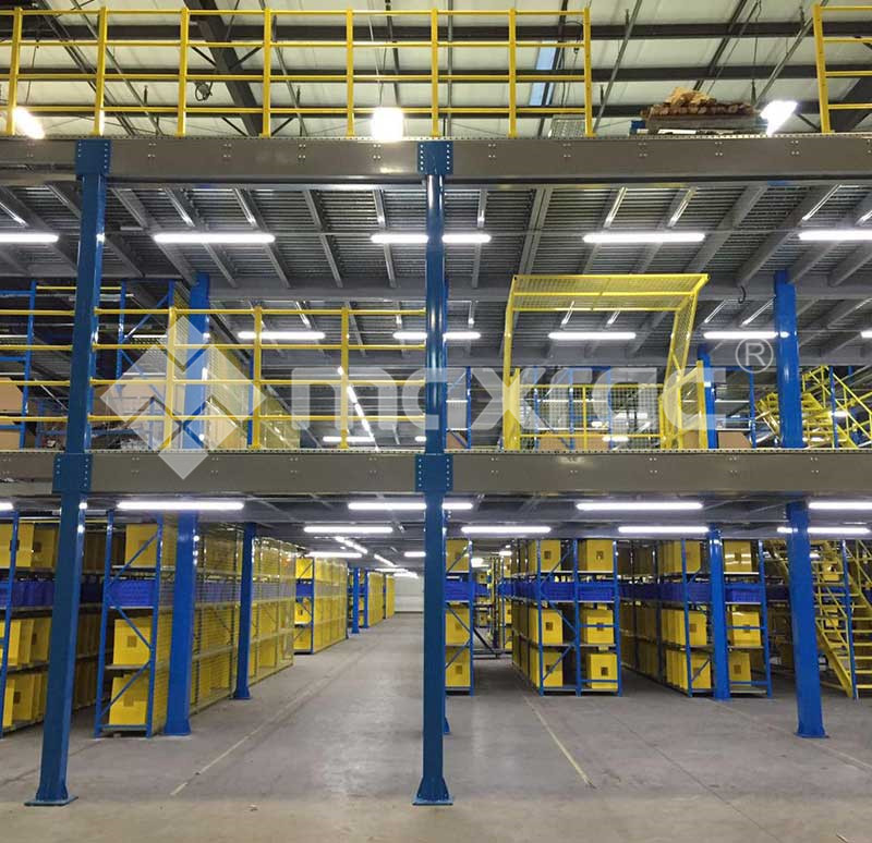 What Is The Difference Between The Surface Of Warehouse Storage Rack Systems Being Processed And Not Being Processed?