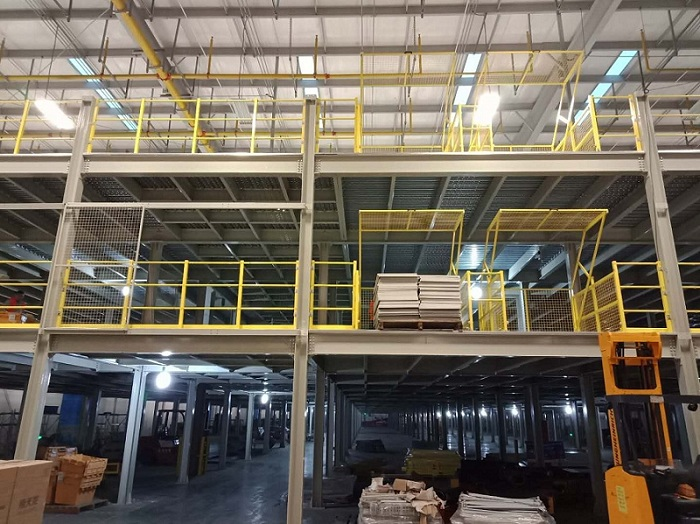 Steel Platform with Largest E-Commercial Brand JD
