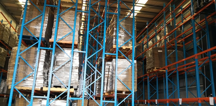 Double-Deep Pallet Rack Project In Auckland, New Zealand