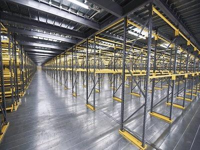 Steel Mezzanine Platform for Leading E-commerce Service Provider