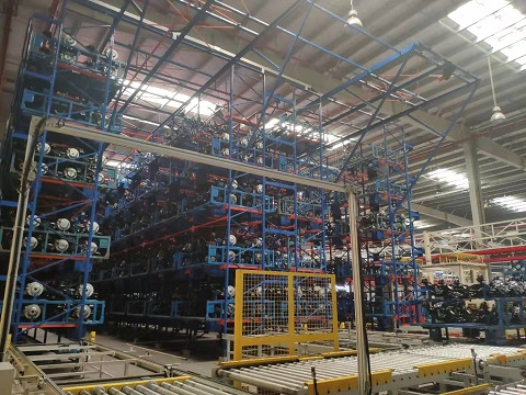 Maxrac powers automotive industry warehousing-new automated storage