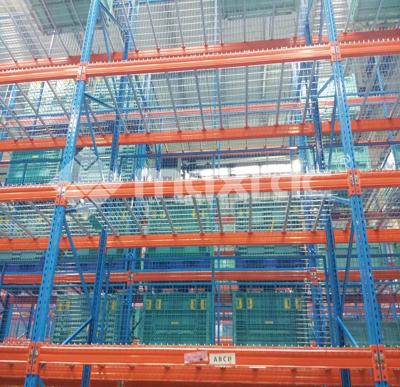 Superlock pallet racking