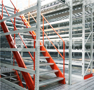 Mezzanine stair