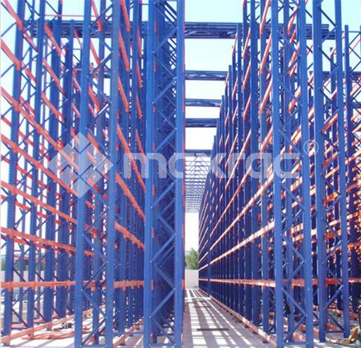 Pallet racking systems installation