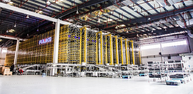 Largest Mini-load ASRS & AGV Project in Southwest China