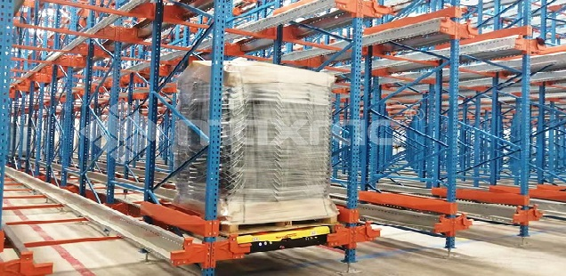 Maxrac Pallet Shuttle System Installed in Morocco